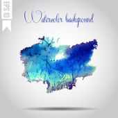 Watercolor vector background. Hand drawing. — 图库矢量图片