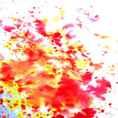 Watercolor vector background. Hand drawing. — ストックベクタ