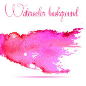 Watercolor vector background. Hand drawing. — Stockvector