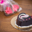 Valentine's day treats and gifts — Stock Photo