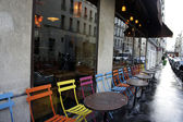 Parisian cafe — Стоковое фото