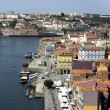 Stock Photo: Overlooking port of Porto
