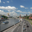 Stock Photo: General view at the Moscow center, Russia.