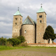 Romanesque church in Tum, Poland — Stock Photo #28066211
