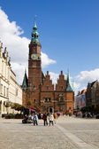 The ancient Town Hall in Wroclaw, Poland — Stock Photo
