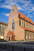 The Corpus Christi church in Wroclaw — Foto Stock