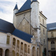 The ancient tower in the Burgundy dukes Palace. Dijon, France — Stock Photo