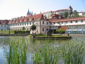 The Wallenstein Garden. — Stock Photo