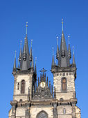 Church of Our Lady in front of Tyn. — Stock Photo