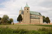 The Romanesque church in Tum village, Poland — Stock Photo