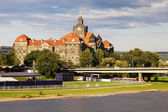 State Chancellery of Saxony in Dresden, Germany — Stock Photo