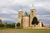The Romanesque church in Tum, Poland — Stock Photo