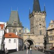 Foto Stock: Charles Bridge & towers