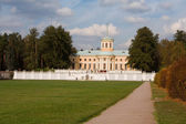 View at palace of Museum-Estate Arhangelskoe — Stock Photo