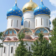 The Russian ortodox church — Stockfoto