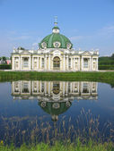 The Grotto Pavilion at the museum-estate Kuskovo in Moscow — Stock Photo