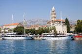 Split city in Croatia — Stock Photo