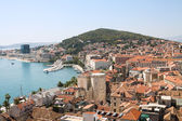 Split cityscape in Croatia — Stock Photo
