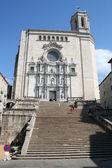 Katedrála v girona, španělsko — Stock fotografie