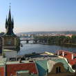 Stock Photo: Prague's view in morning