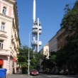 图库照片: Prague's TV tower