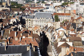 Aerial view of Dijon city in France — Stock Photo