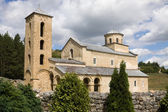 The orthodox Sopocani monastery in Serbia, UNESCO world heritage site — Stock Photo