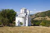 The church in the orthodox monastery Nova Pavlica in Serbia — Stock Photo