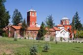 セルビアの正統修道院 zica — ストック写真