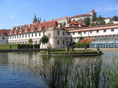 The Wallenstein Garden in Prague. — Stock Photo