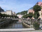 Karlovy Vary's view, Czechia. — Stock Photo