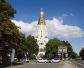 俄罗斯东正教在莱比锡,德国 — 图库照片