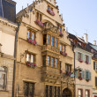 Stock Photo: Beautiful medieval house in Colmar city, France