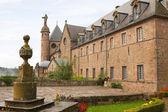 Fransa'da mont sainte odile abbey — Stok fotoğraf