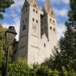 The Romanesque church in Dietkirchen an der Lahn, Germany — Stock Photo #34091317