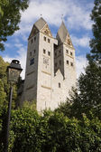 The Romanesque church in Dietkirchen an der Lahn, Germany — Stock Photo