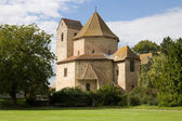The abbey church in Ottmarsheim, France — Stock Photo