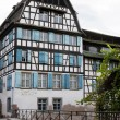 Beautiful half-timbered house in the Petite-France district of Strasbourg — Stock Photo