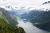 The Geirangerfjorden in Norway — Stock Photo