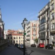 A street in the old Madrid. — Stock Photo