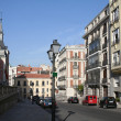 Stock Photo: Street in old Madrid.