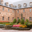 Courtyard in Mont Sainte-Odile Abbey in France — Stock Photo #36768731