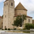 Abbey church in Ottmarsheim, France — Foto Stock