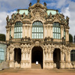Pavilion at north wall of Zwinger — Stock Photo #36768951