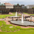 Stock Photo: Courtyard of Zwinger in Dresden, Germany