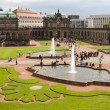 Courtyard of Zwinger in Dresden, Germany — Stock Photo #36768999