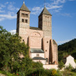 The church of St. Leger in Murbach abbey in France — Stock Photo