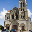 The cathedral of St. Mary Magdalene in Vezelay Abbey in Burgundy, France — Stock Photo