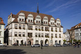The Town Hall on the Market square in Naumburg. Saxony-Anhalt,  Germany — Stock Photo