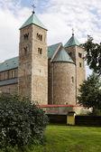 The Romanesque church in Tum village in Poland — Stock Photo